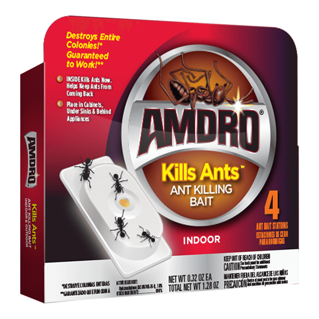 How To Kill Ants In Kitchen Cabinets: AMDRO Ant Killing Bait Stations