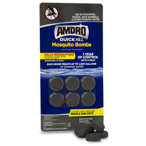 Control Mosquitoes with AMDRO Quick Kill