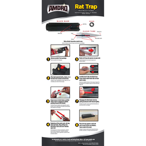 How to assemble Amdro Rat Trap instructions