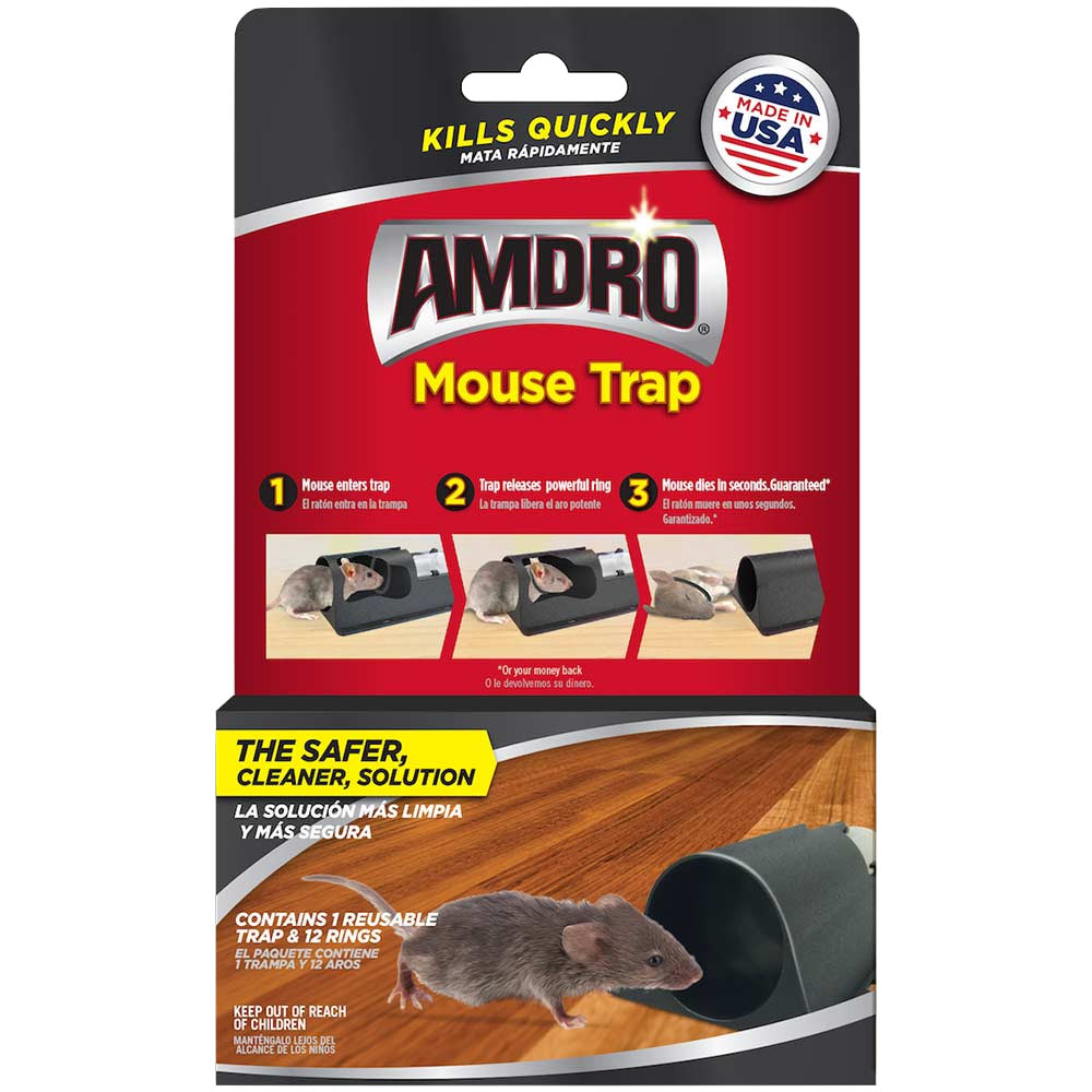 Amdro mouse trap for mouse control.